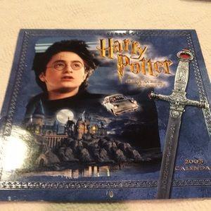 Harry Potter 2005 chamber of Secrets calendar